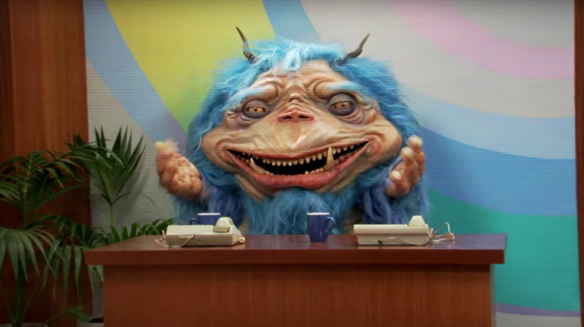 Comedy Central Adds Blue Alien To Late-Night With The Gorburger Show