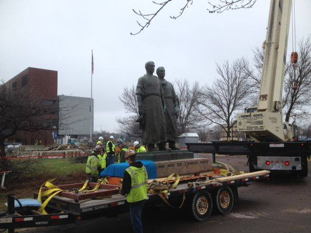 Time Capsule Found Under Historic Statue, But Should They Open It?