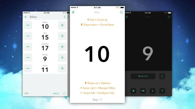 Tally 2 Is a Simple, Eyes-Free Counter for iOS