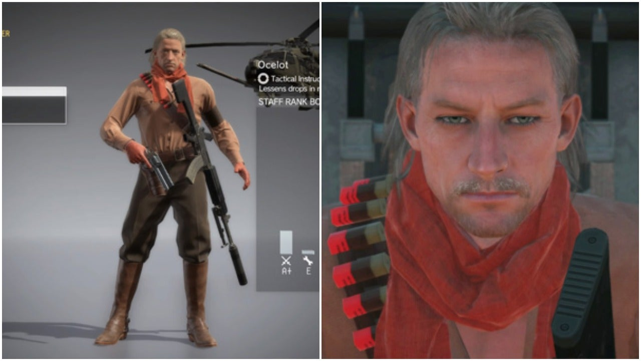 Konami Updates Metal Gear Solid 5, Makes Ocelot Playable On FOBs