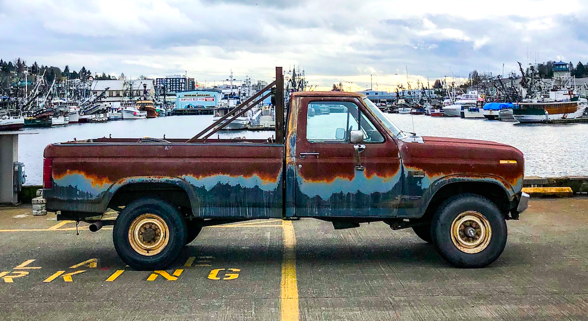 This 1985 Ford F-250 Has The Perfect Patina