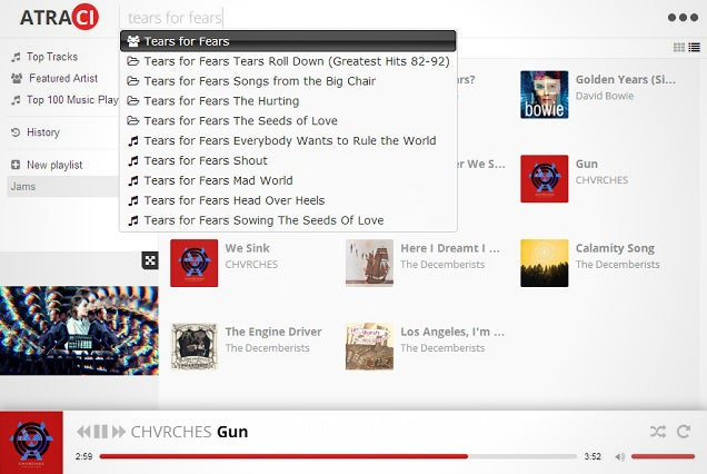 Atraci Streams a Library of Over 60 Million Songs for Free