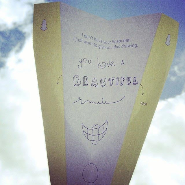 The world would be a much better place if we used paper aeroplane texts