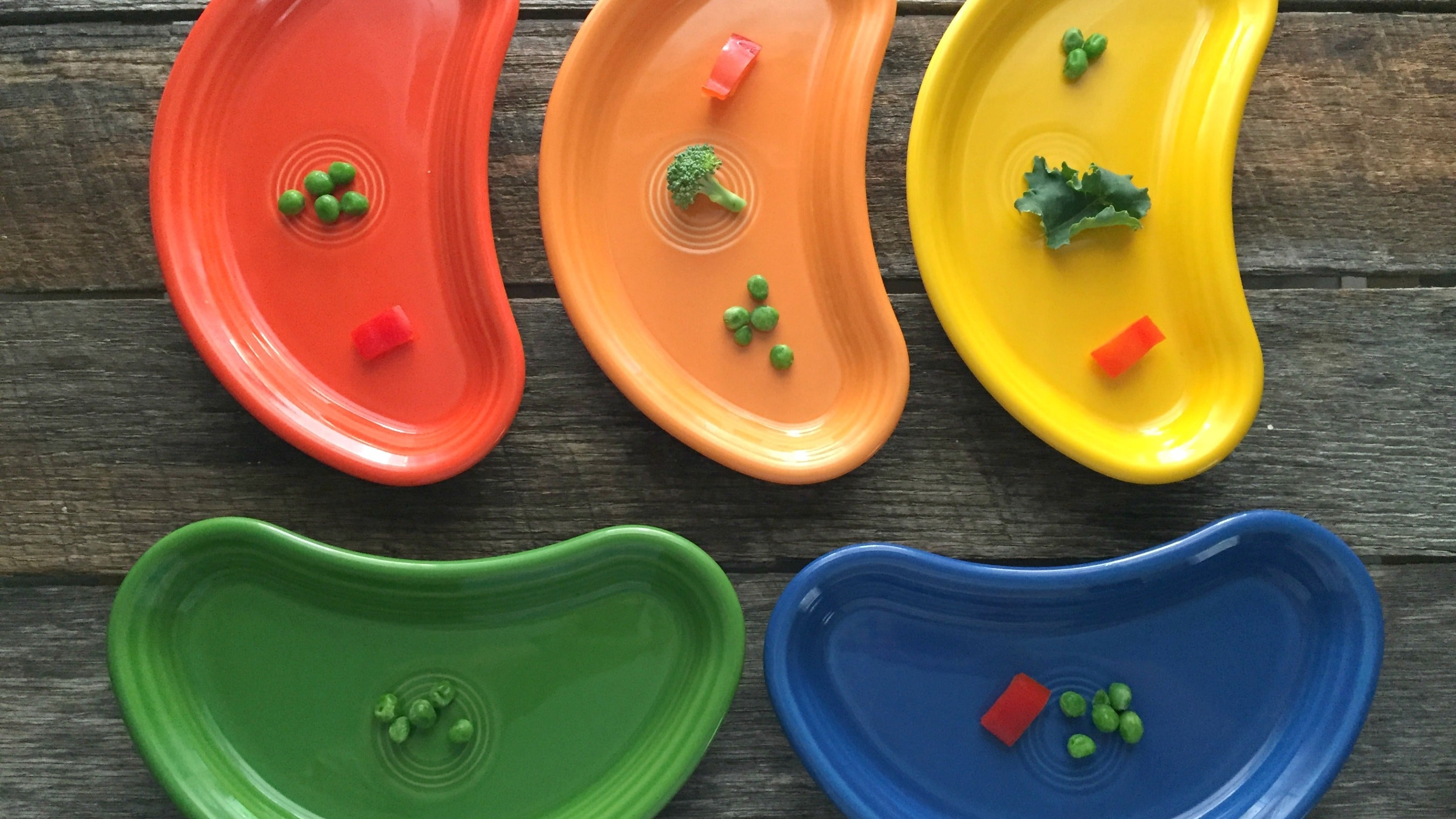 Use A 'Taste Plate' To Get Picky Eaters To Try New Foods