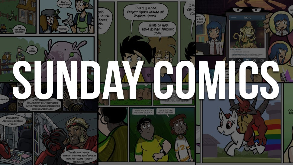 Sunday Comics: A Time And Place For Rainbow Ponies