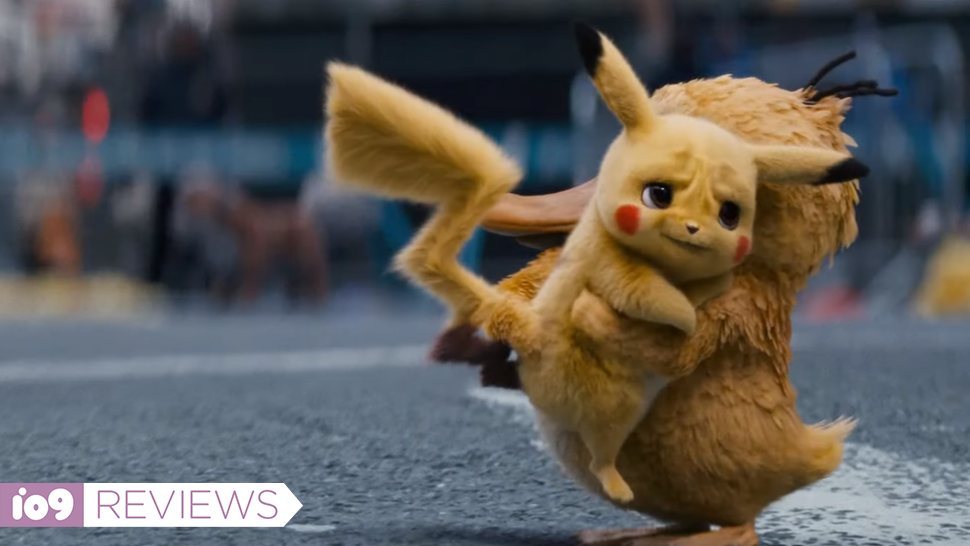 Detective Pikachu Is Almost Too Cute For Its Own Good