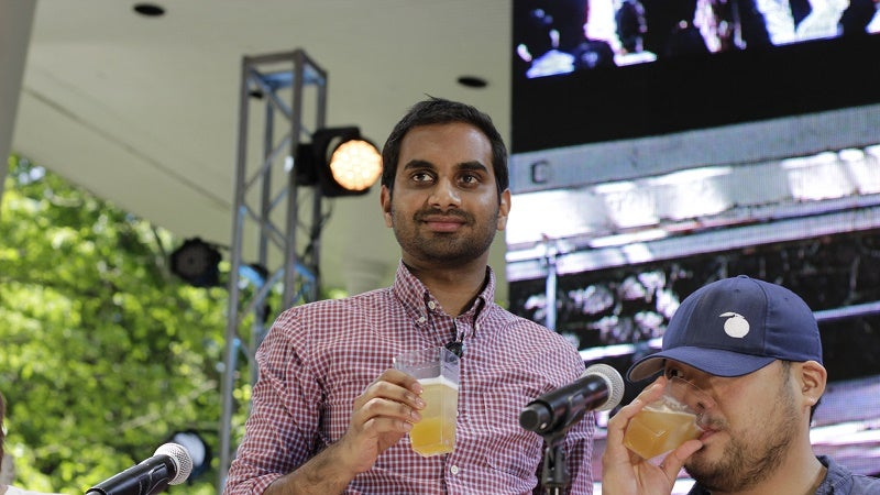 Aziz Ansari's Tip For Spending Less Time Poking Around On The Internet