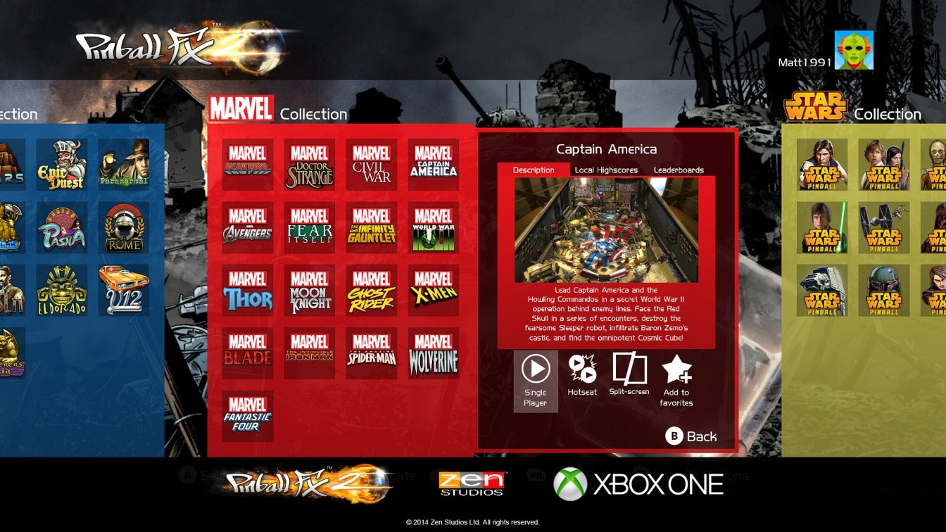 There's Good News And Bad News About Pinball FX2 For The Xbox One