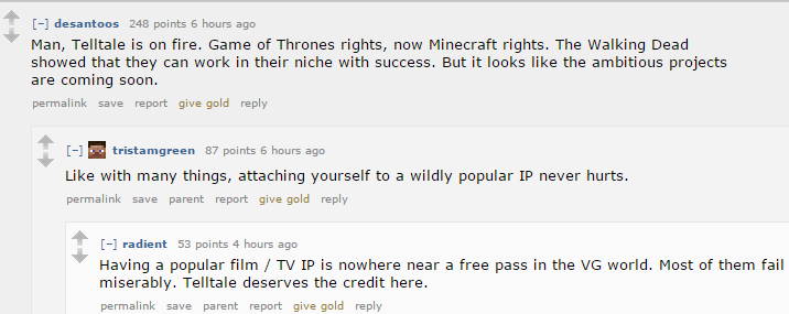 The Internet Reacts To Minecraft: Story Mode