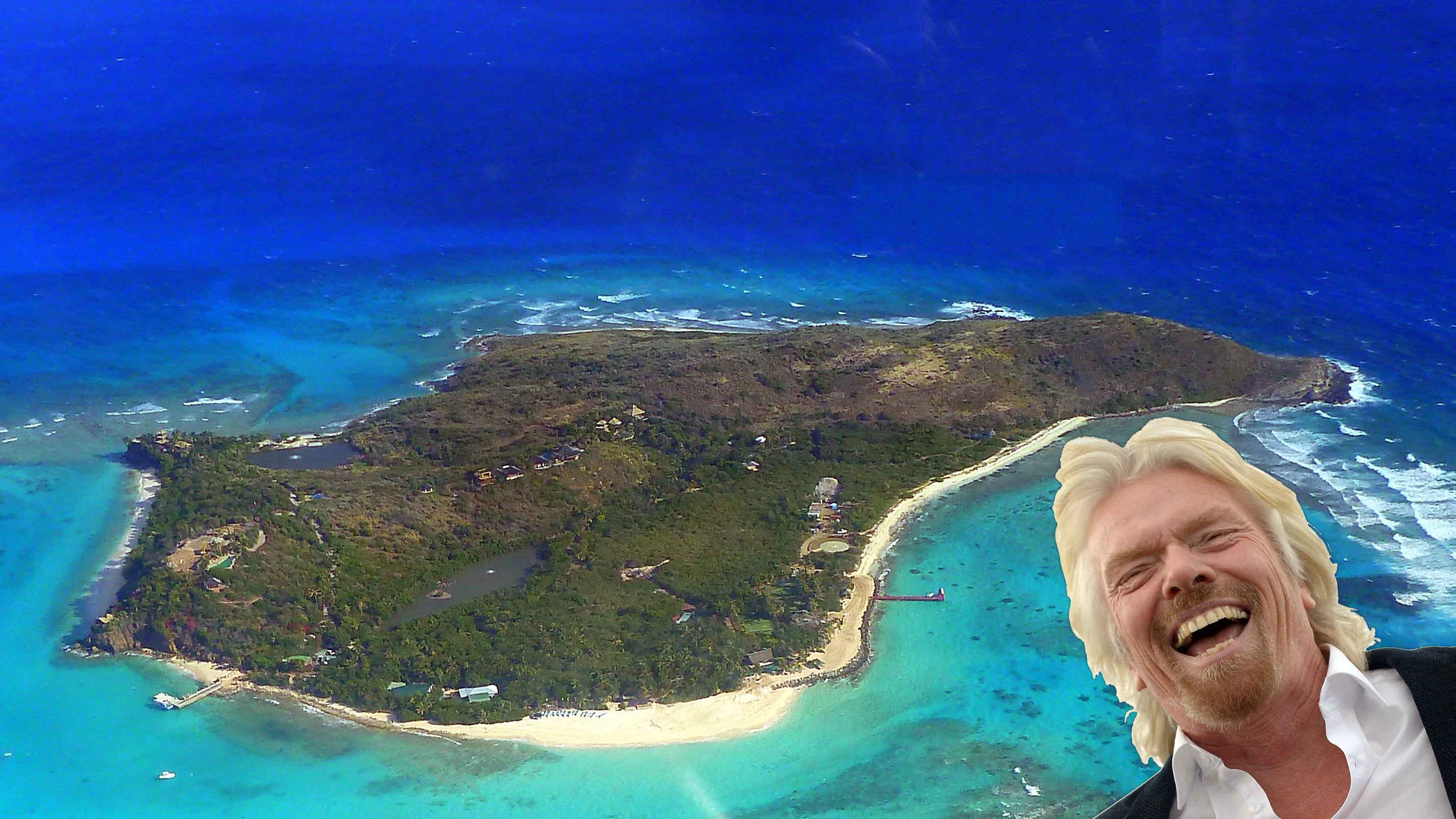 Richard Branson has survived Hurricane Irma on his private island