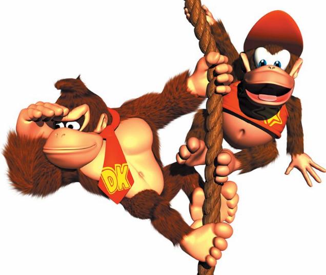I'll never look at Diddy Kong the same way again