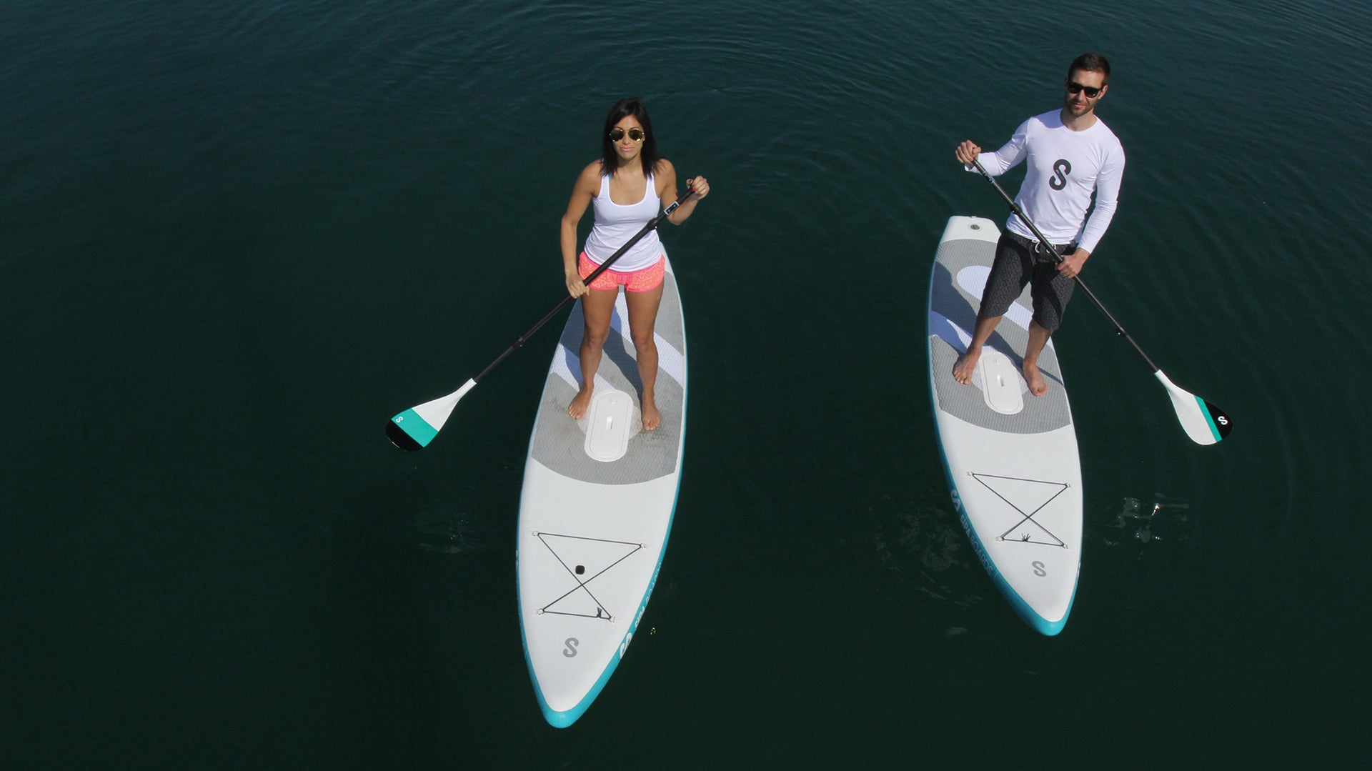 A Self-Inflating, Self-Propelled, Stand-Up Paddleboard