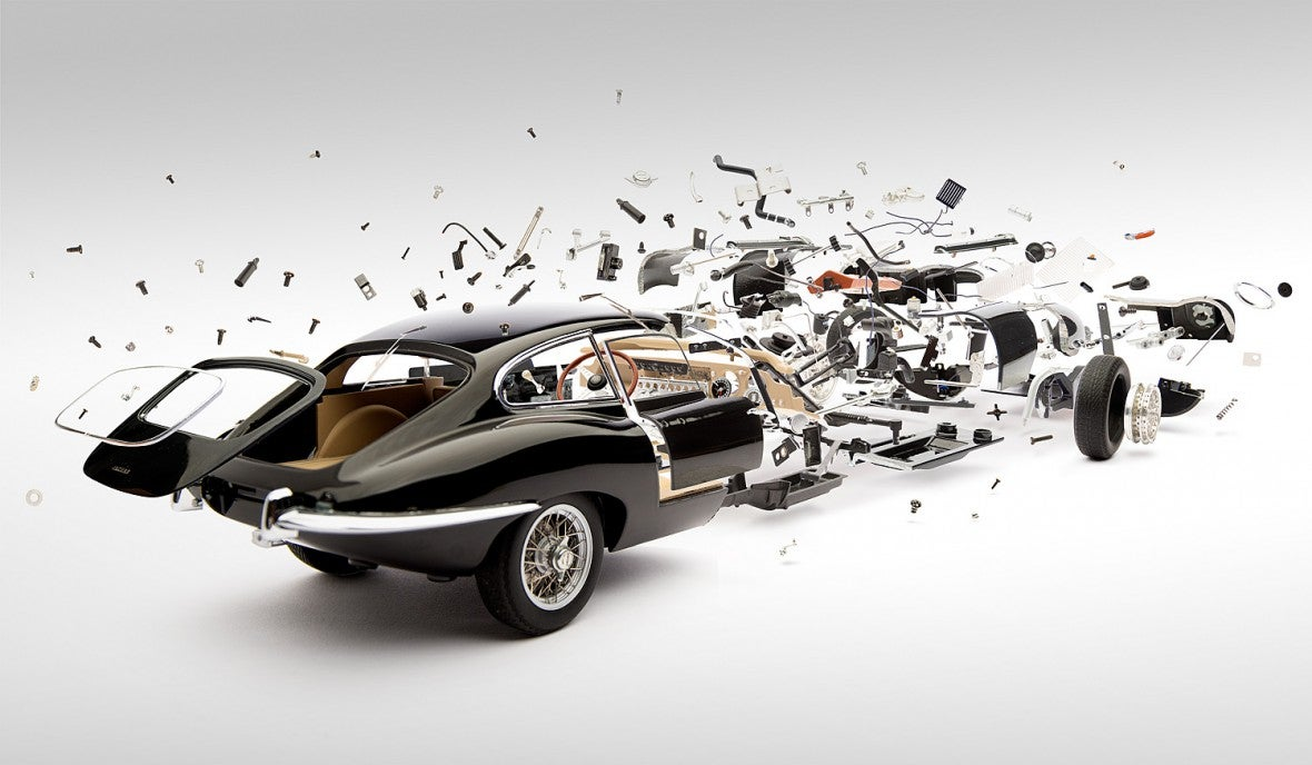 Cool disintegrating cars photos make me feel like a little kid