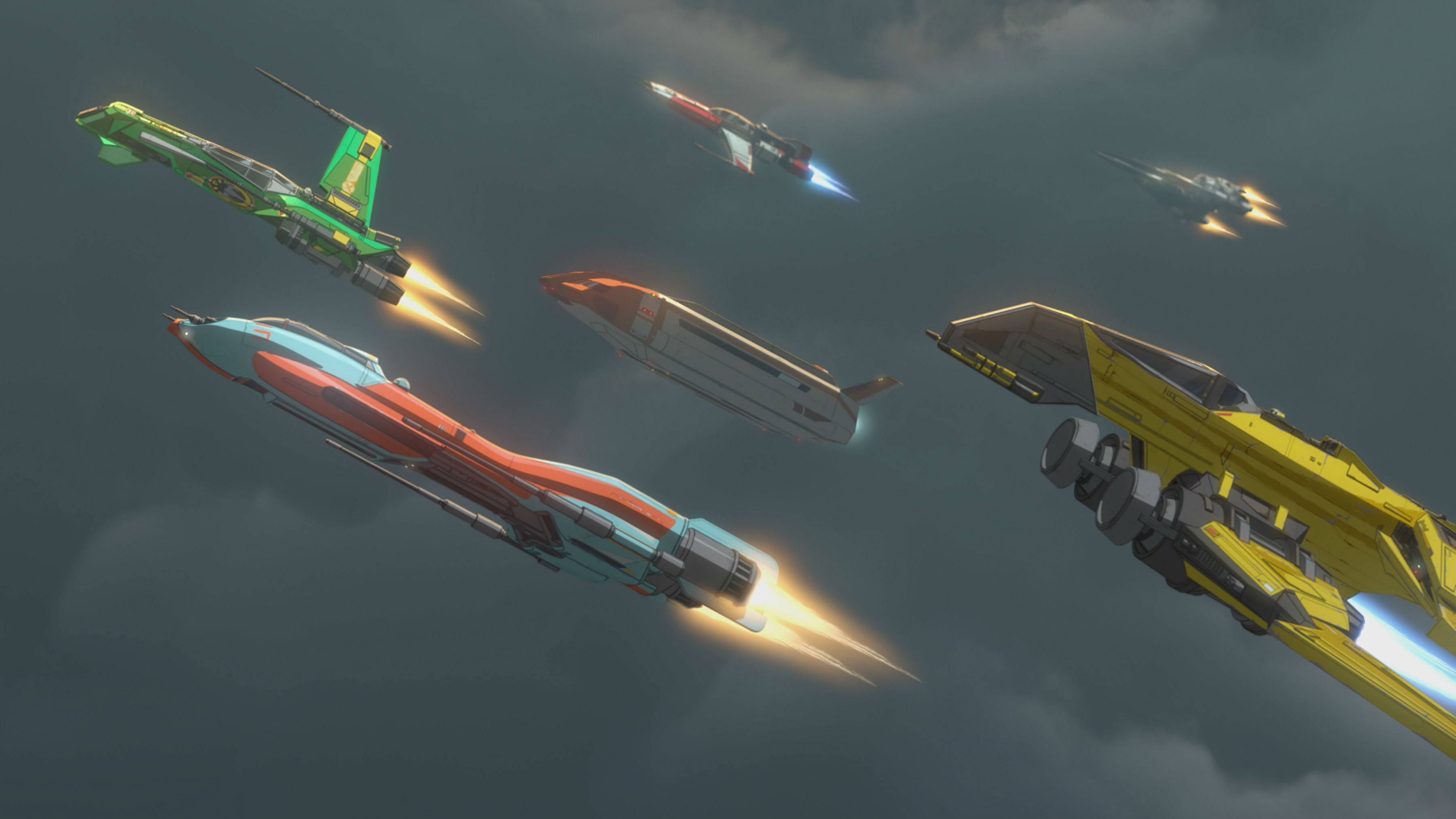 Three Star Wars Resistance Ships Were In The Rise Of Skywalker