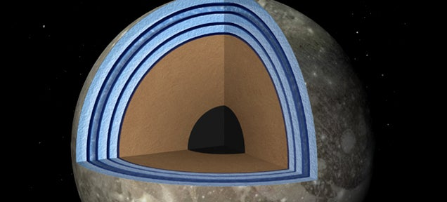 NASA: Ganymede Is A Water And Ice Club Sandwich That May Harbour Life