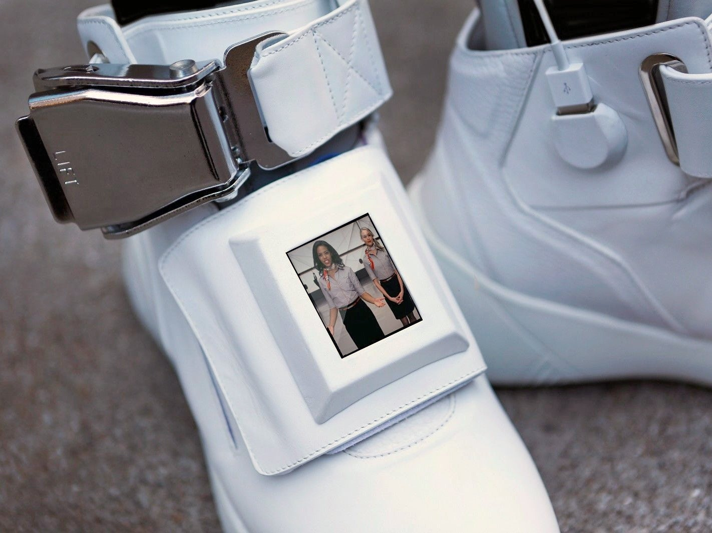 Virgin America Created Sneakers That Recreate the Experience of Flying First Class