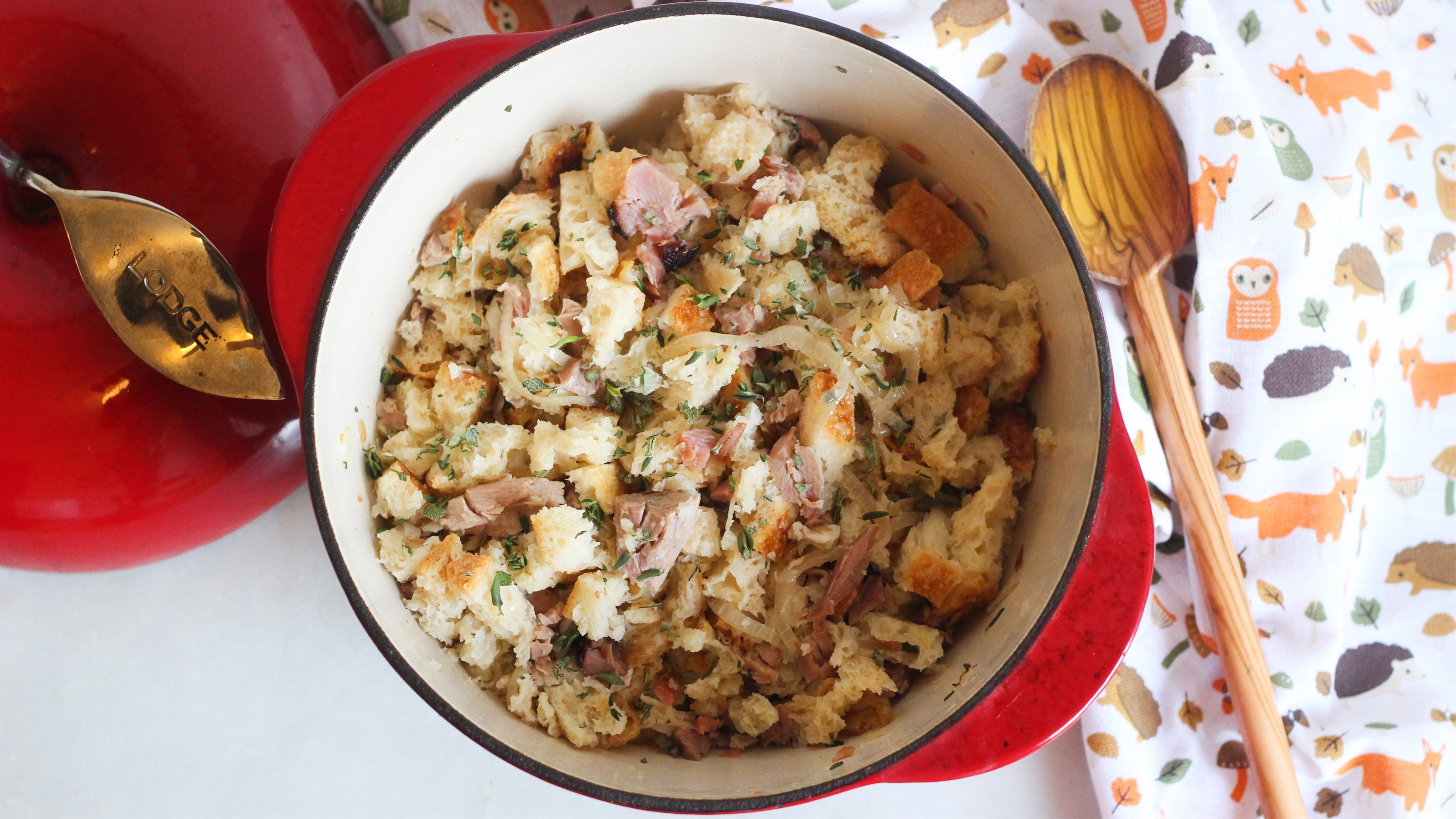 Add Smoked Turkey To Your Stuffing