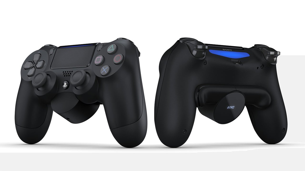 New Sony Gadget Adds Two More Buttons To The Dualshock 4