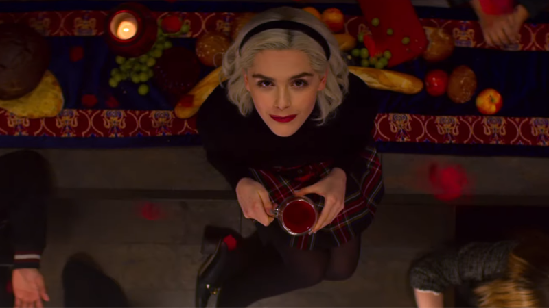 In The First Chilling Adventures Of SabrinaSeason 2 Trailer, The Teenage WitchEmbraces Her Dark Side