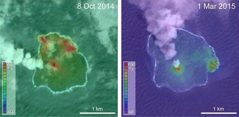 Check Out This Tiny New Island Born of a Volcano
