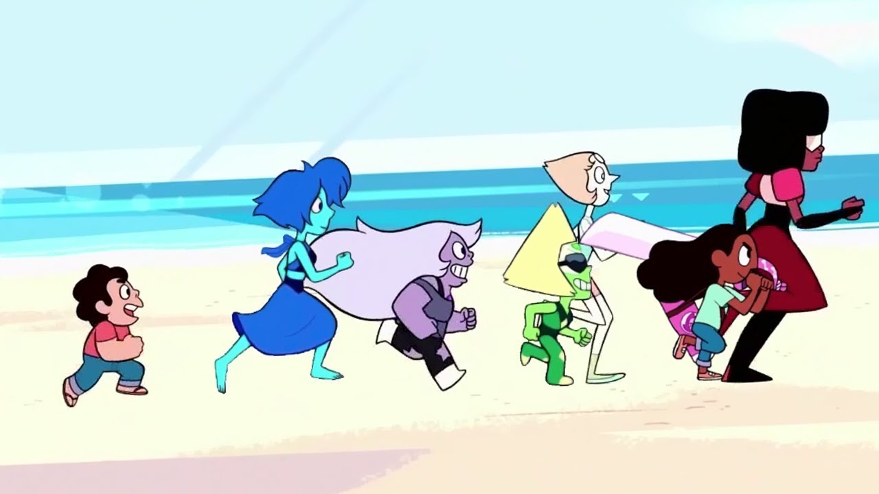 This Fan Edit Puts All The Crystal Gems Together For A New Steven Universe Intro