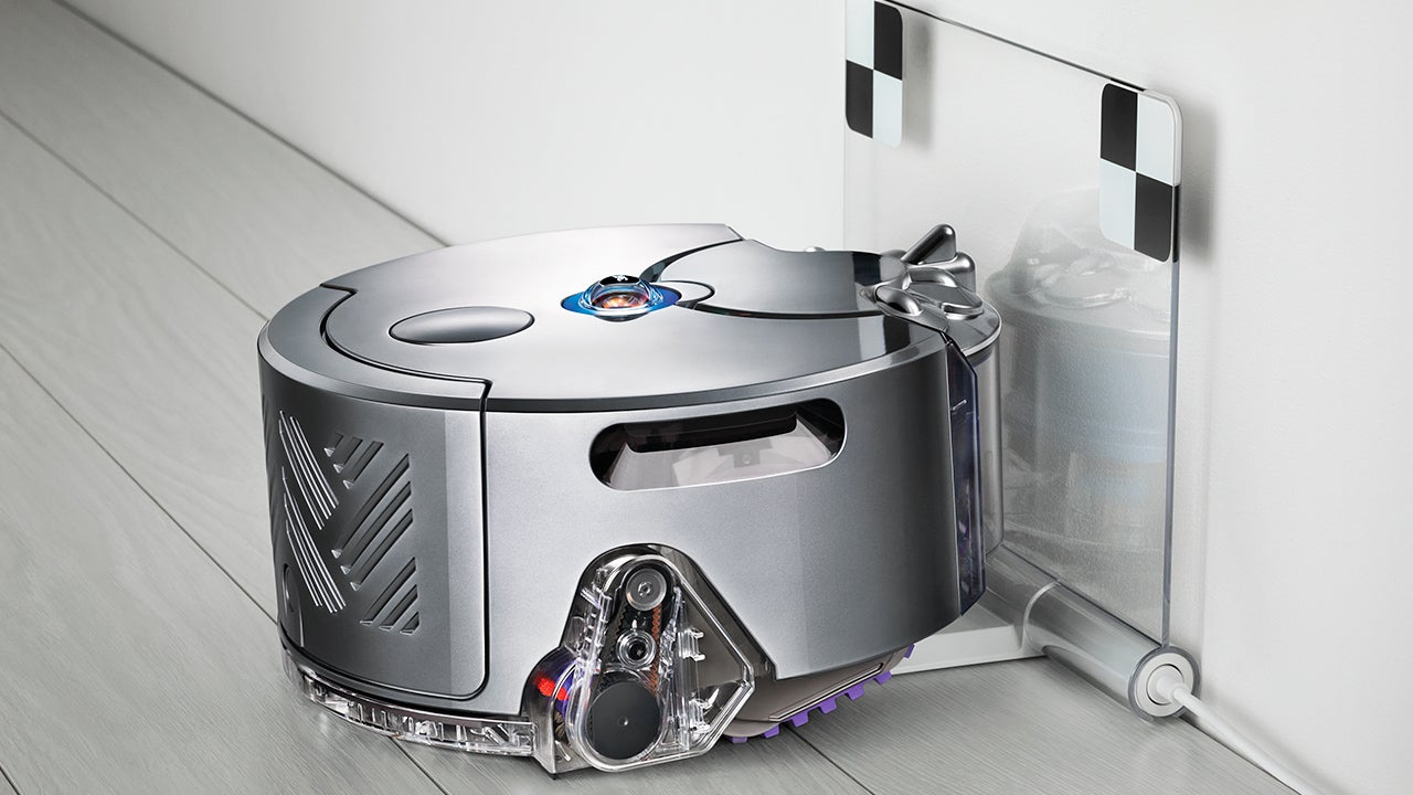 Dyson's First Robo-Vac Has Tank-Treads and a 360-Degree Camera