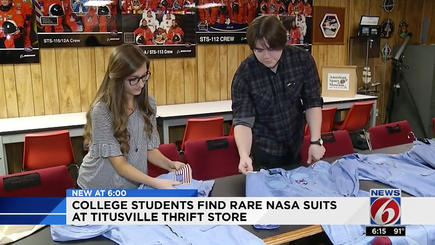 Op Shop Shoppers Buy $20,000 Worth Of Vintage NASA Flight Suits For $1.20