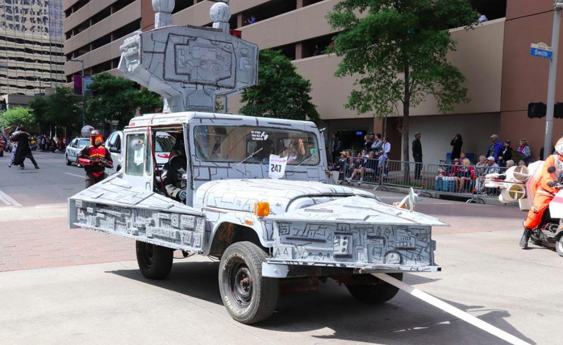Texas Geniuses Turn Jeep Into Star Wars 'Star Destroyer ...