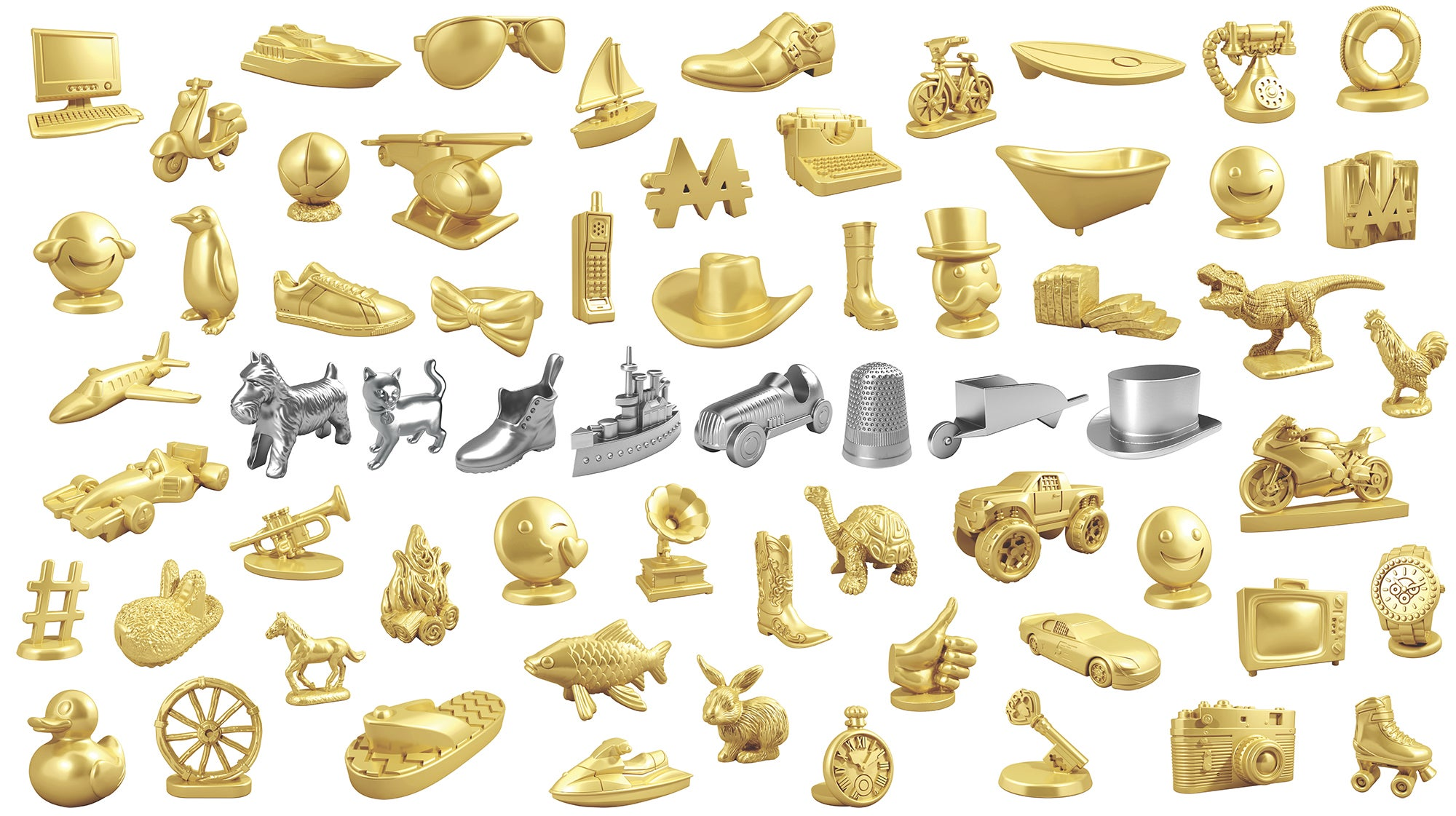 Monopoly Will Let The Internet Vote To Replace All Of The Board Game's Classic Tokens