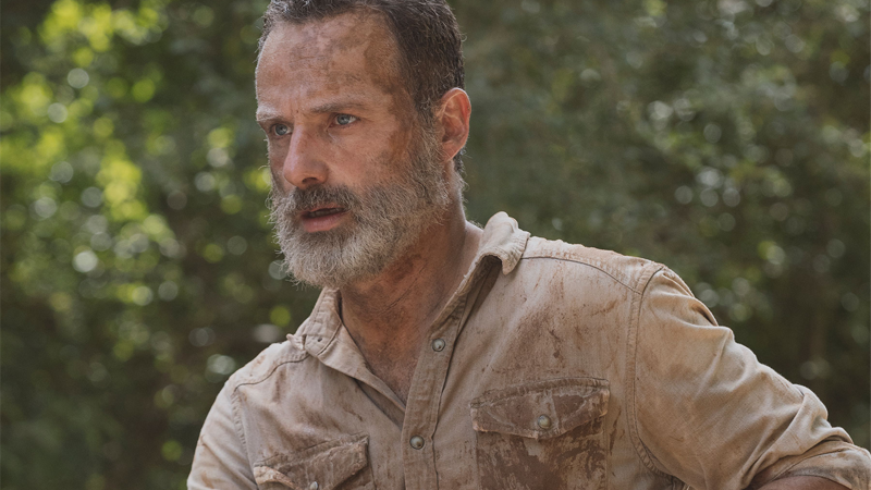 AMC Has Released Way Too Many Pictures Of Andrew Lincoln On A Horse For His Final Walking DeadEpisode