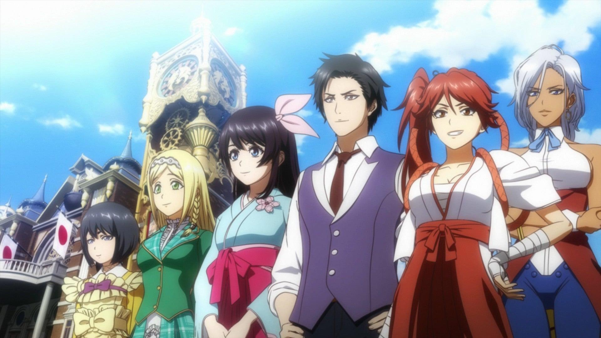 Sega's New Sakura Wars Game Comes To The West In April