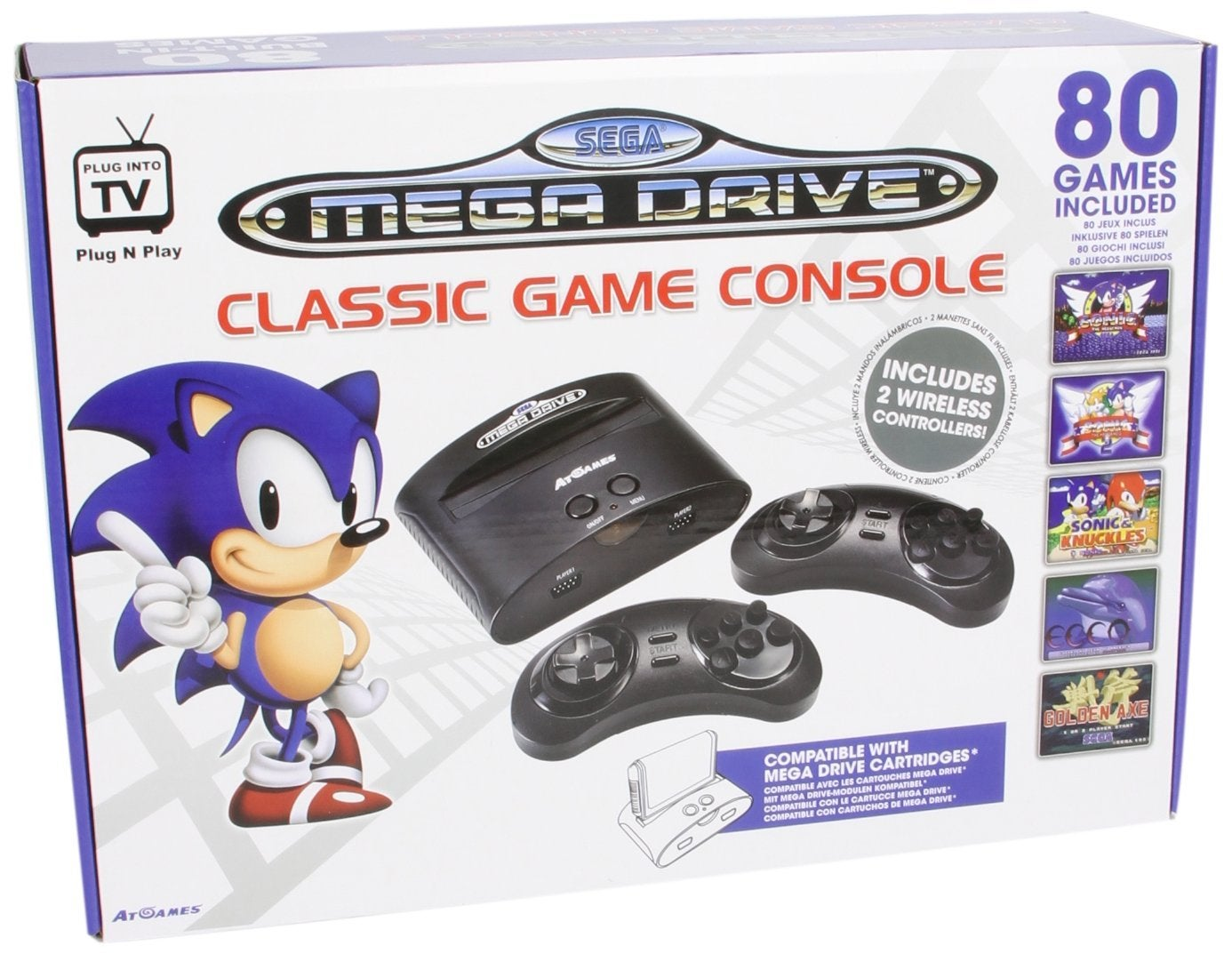 Sega Launches Retro Mega Drive Console