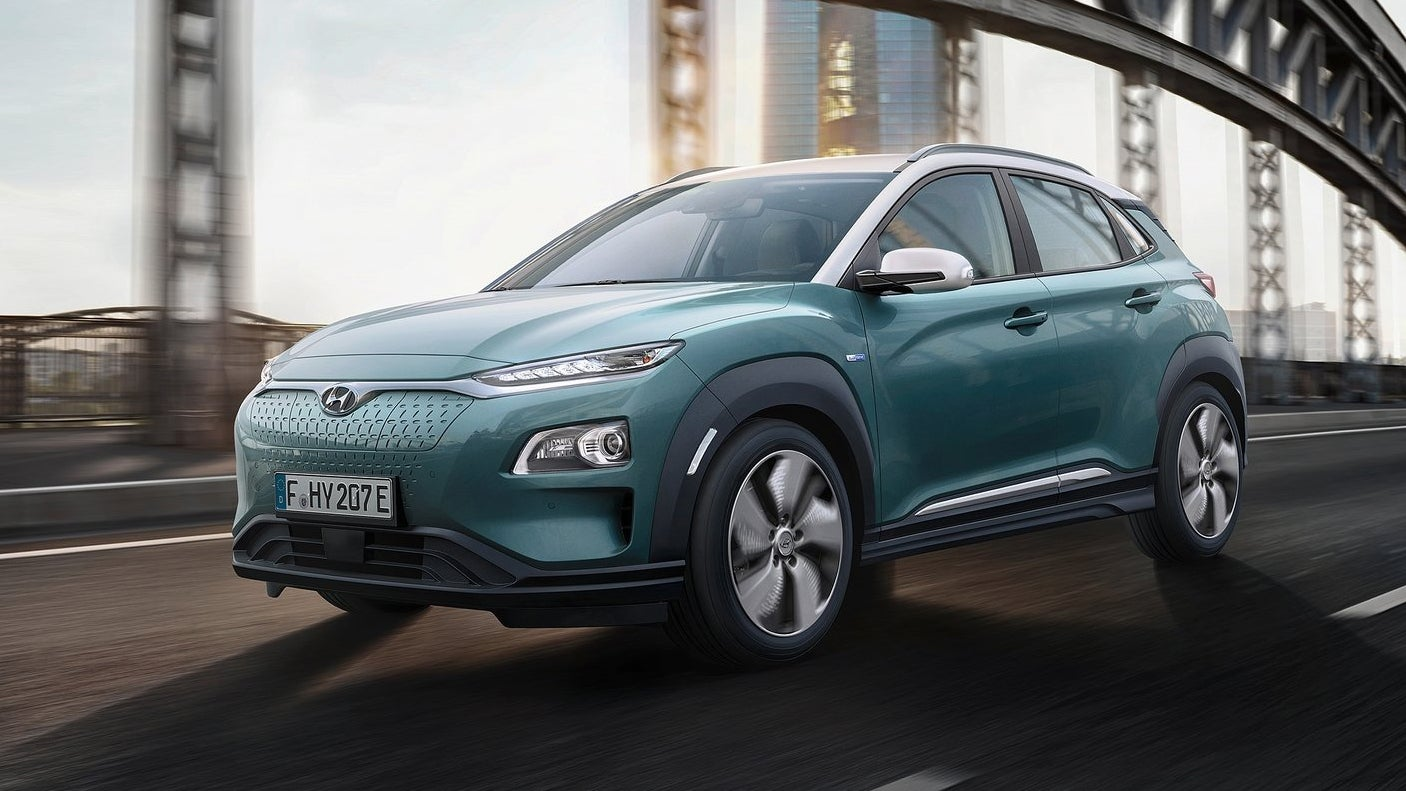 Hyundai Is Making An All-Electric Crossover And Man Is It Not A Tesla Fighter