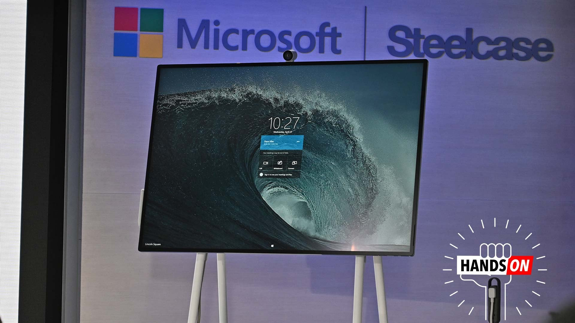 The $9,000 Surface Hub 2S Is A Gigantic Windows Touchscreen With Special Wheels To Scoot Around On