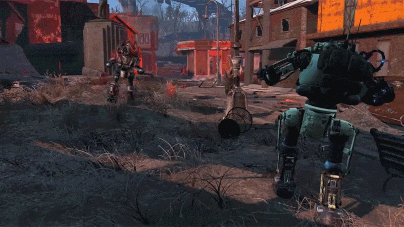 Fallout 4's First DLC Is Full Of Giant Robot Battles