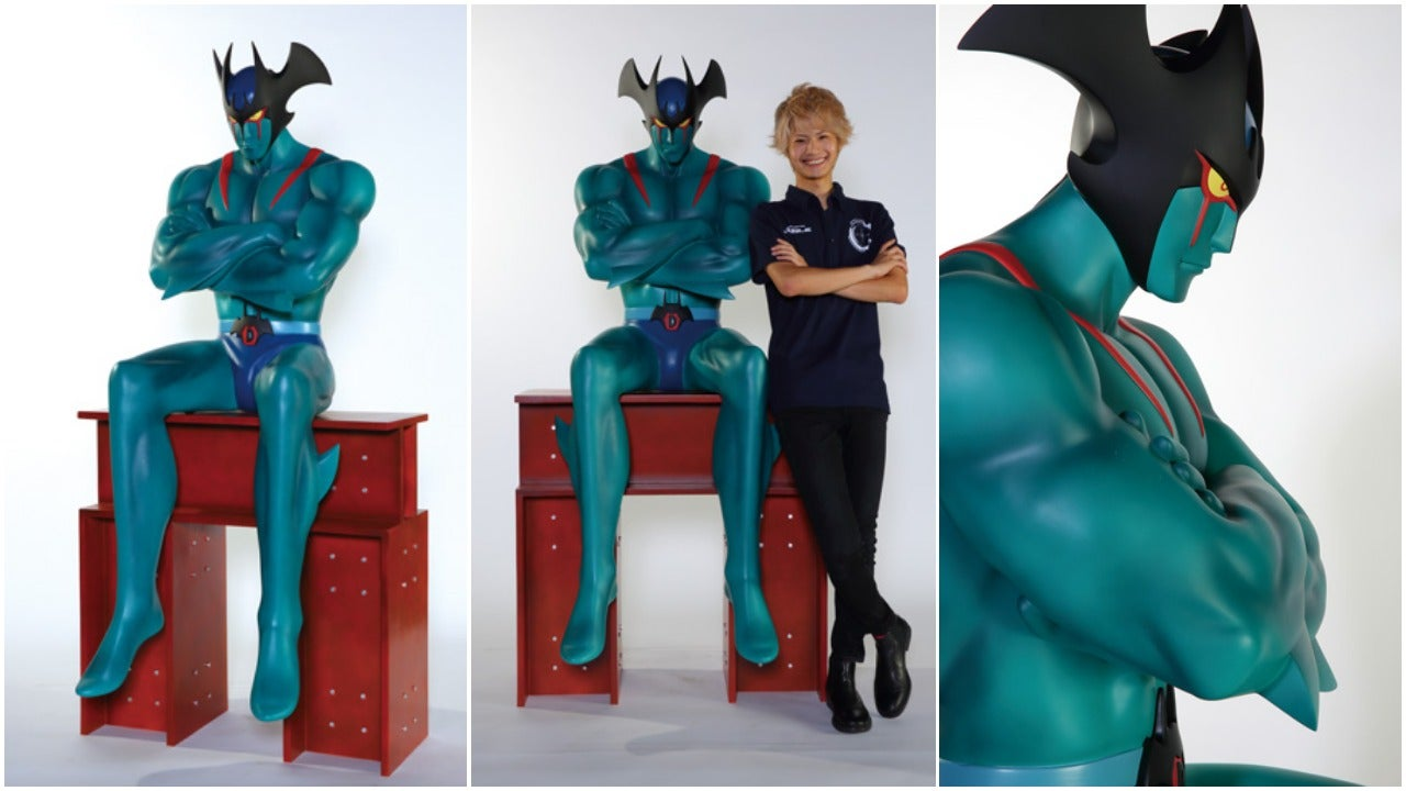 A Life-Sized Anime Figure Worth Pondering