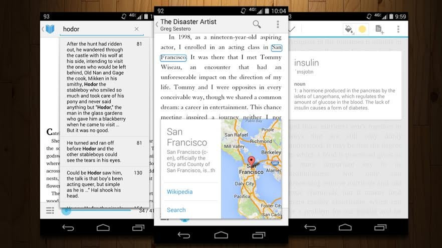 App Directory: The Best Ereader For Android