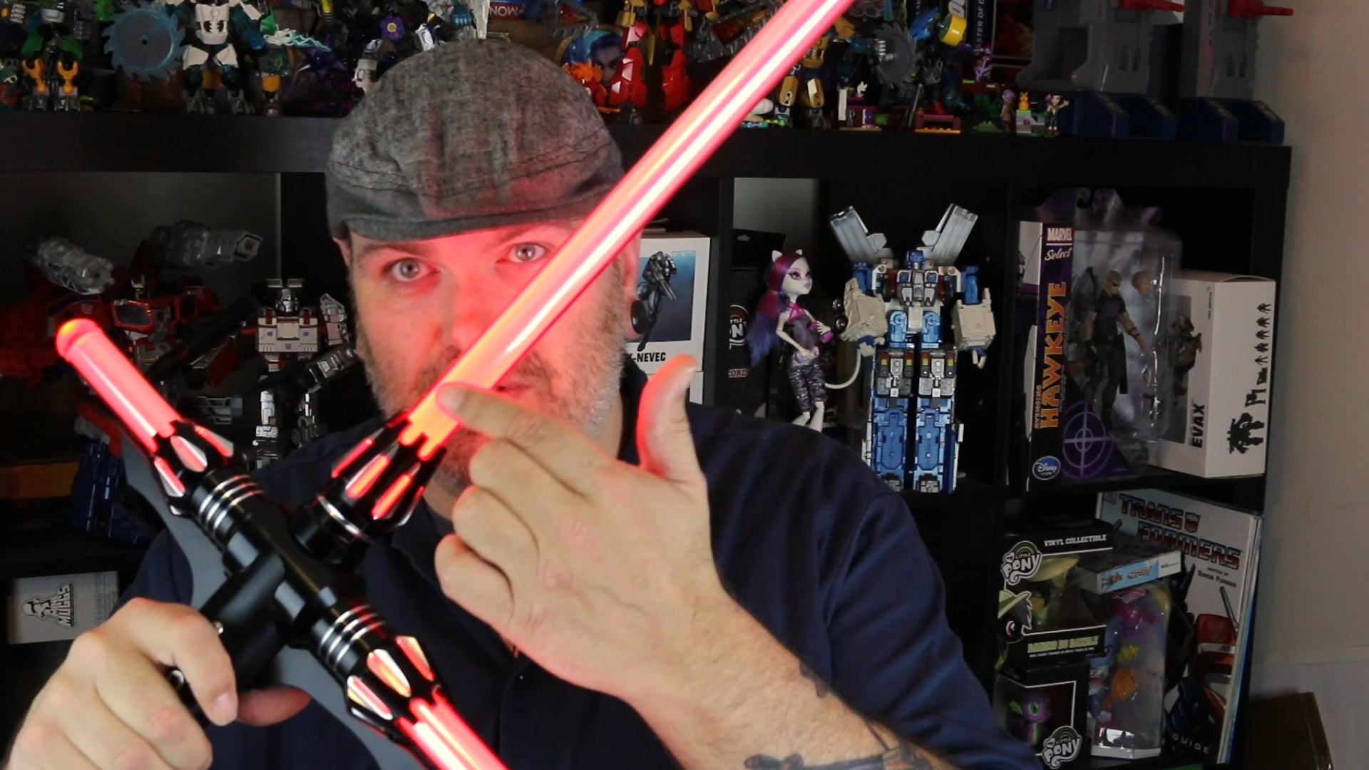 Toy Time Wields UltraSabers' Renegade Combat Lightsaber