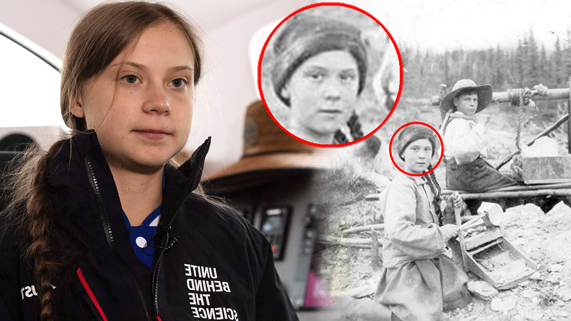 23 Questions For Greta Thunberg, 19th-Century Gold Miner And Time Traveller