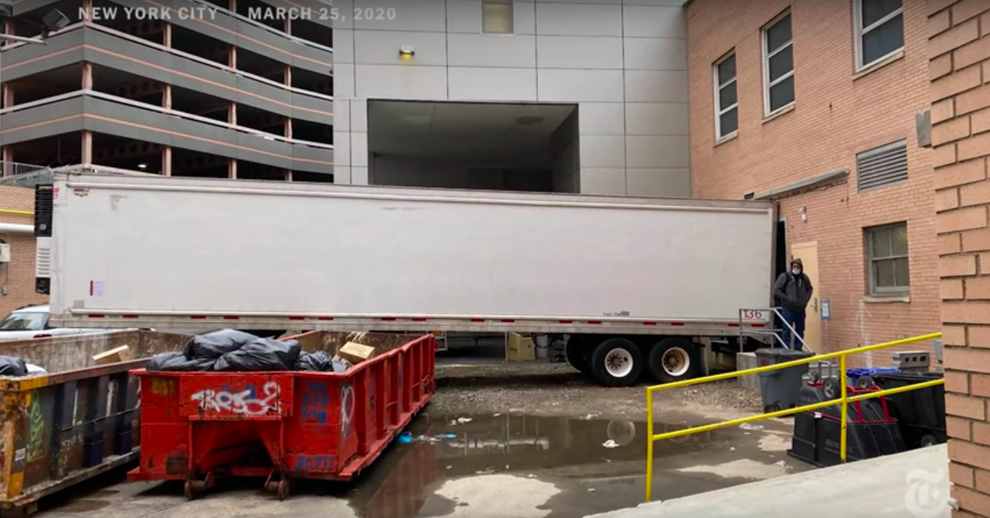 New York Requests 85 Refrigerated Trucks To House The Coming Dead