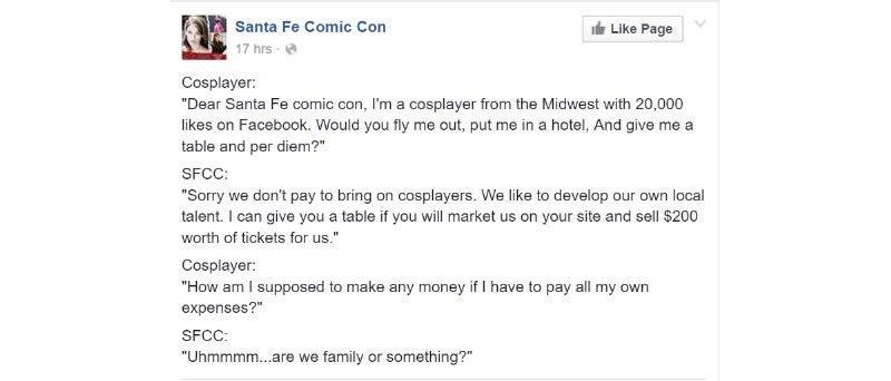 Cosplay Convention Suffers PR Meltdown