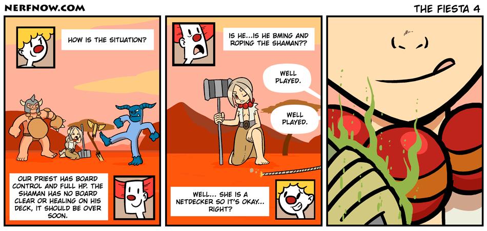 Sunday Comics: Environmentalists