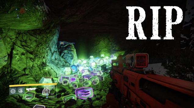 Bungie Kills Destiny Loot Cave