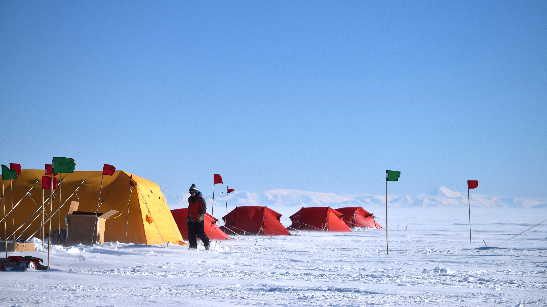 The Machines That Spy On Antarctica's Hidden Lakes