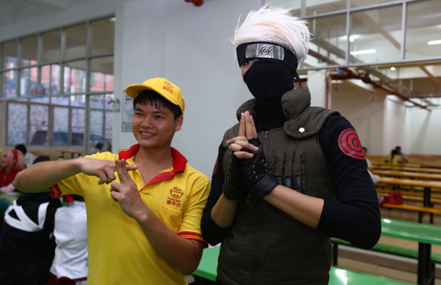 Naruto Fans Recreate Ninja Exams