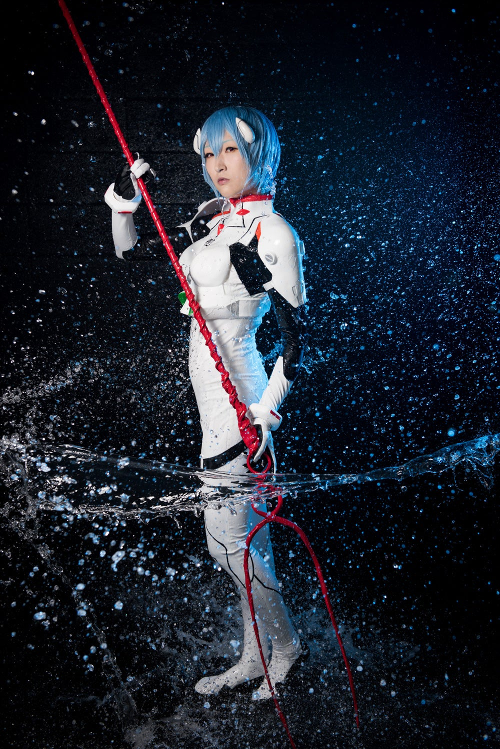 Real Water Makes Cosplay Wetter, I Mean Better