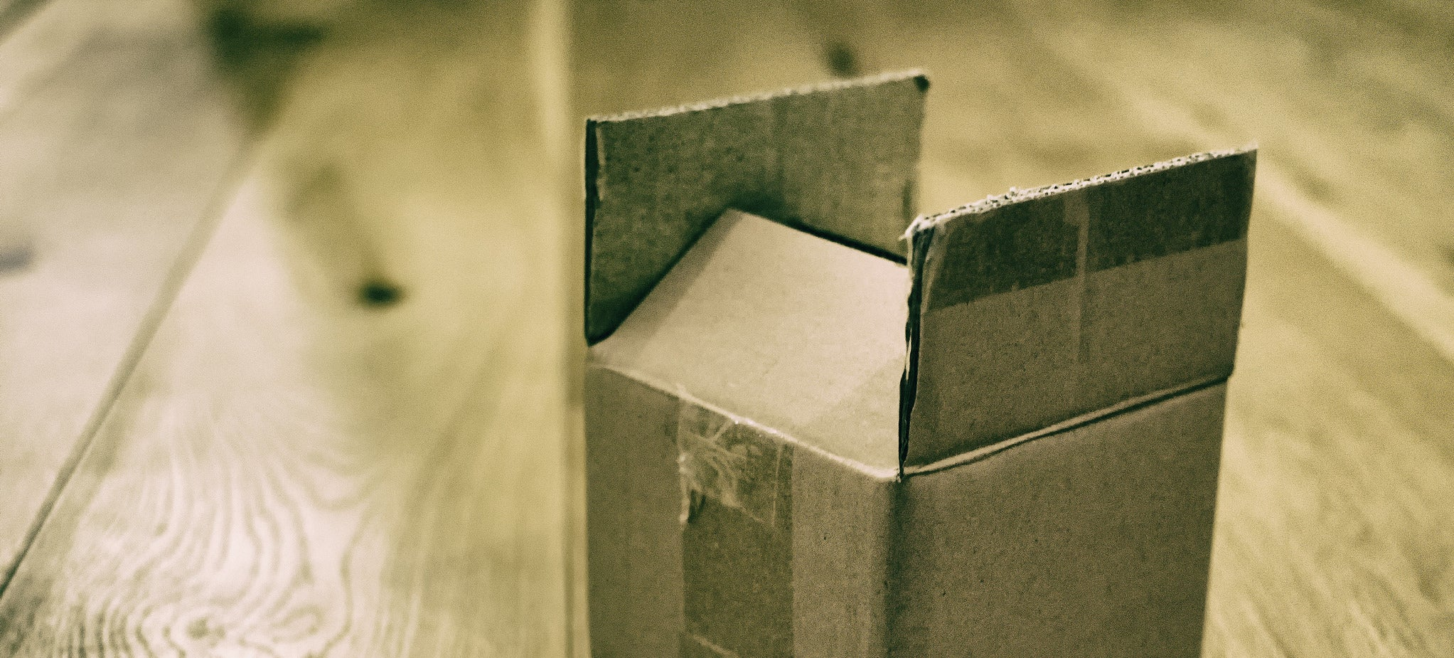 How the Cardboard Box Was Invented