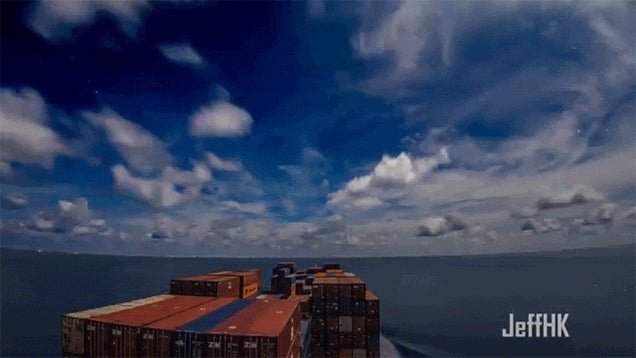 See the World From a Container Ship in This Surprisingly Lovely Video