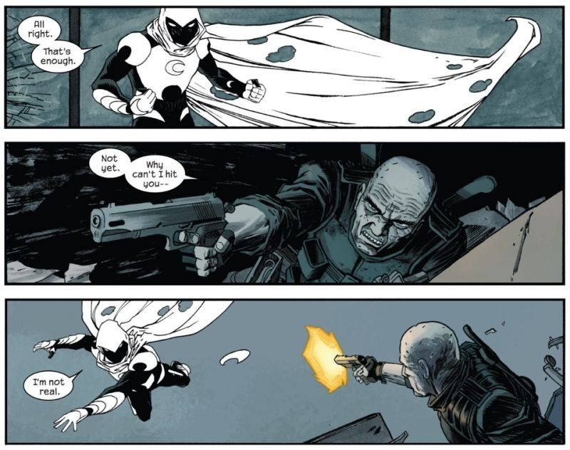 I Can't Tell If Moon Knight's Crazy Anymore