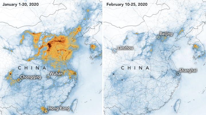 China's Air Pollution Rates Plummet After Coronavirus Lockdown